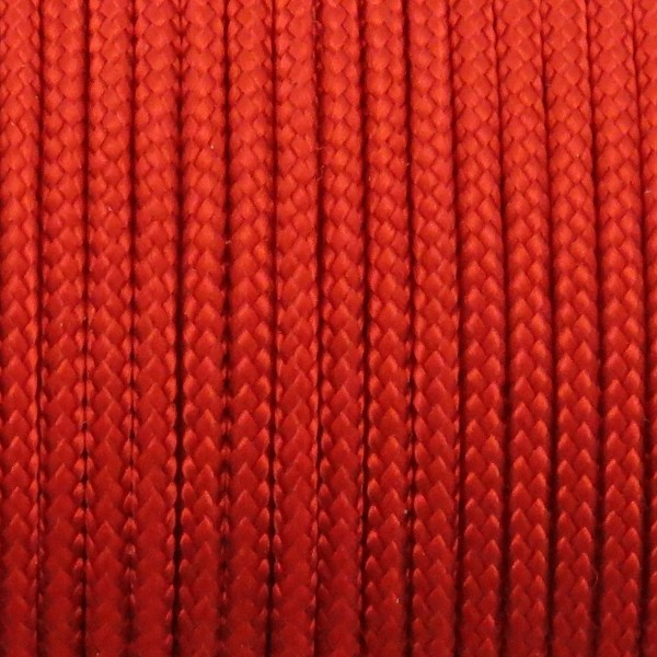 Paracord Type II Unicolor Imperial Red