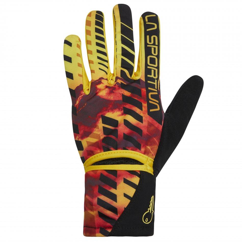 X5410099901 Trail Gloves M Yellow Black