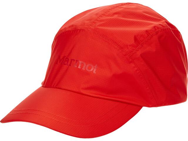 Marmot Sapca PreCip ECo Baseball Cap victory red team red