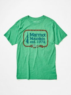 Marmot Ascender Tee  Green Heather