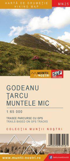 SF Harta Godeanu Țarcu Muntele Mic