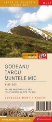 Schubert & Franzke Harta M-ții Godeanu, Țarcu, Muntele Mic