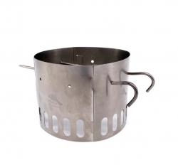 Tistand Toaks Dual Pot Stand Titanium