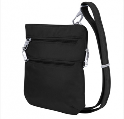 Geantă de umăr anti-furt Travelon Classic Slim Crossbody