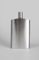 Sticla de buzunar Basic Nature Hip Flask Brush 125ml