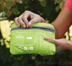 Travelon Daypack Packable 021440 Lime 4