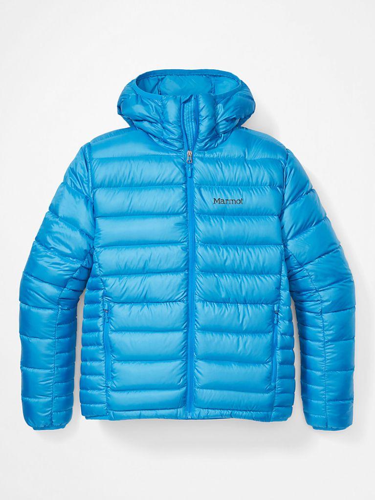 Men's Hype Down Hoody Clear Blue 108703695