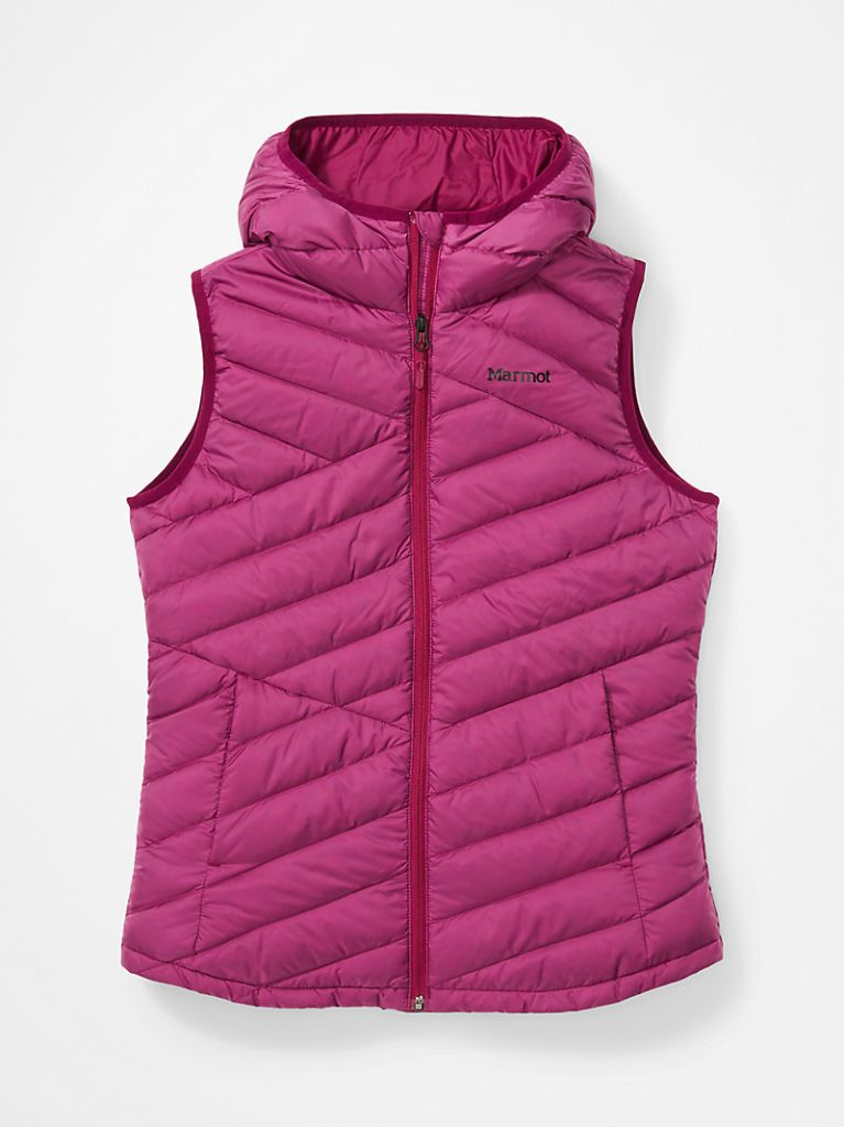 Women's Highlander Hoody Vest Wild Rose 793806863