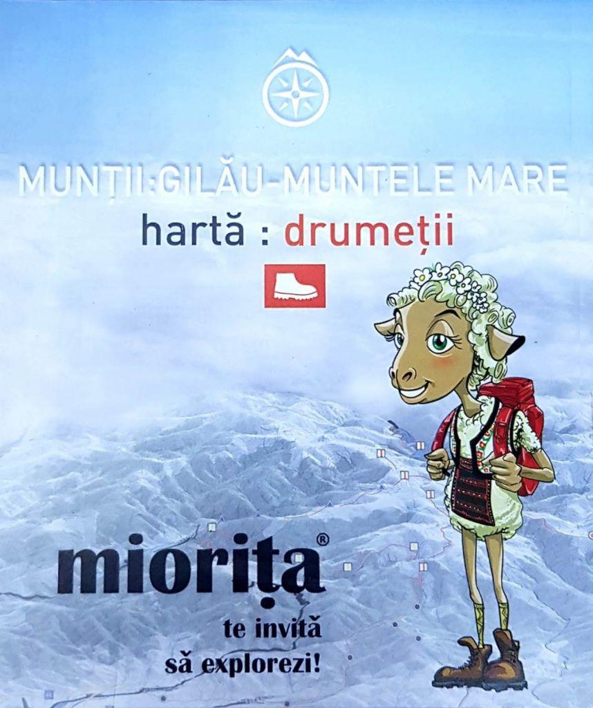 Miorita Harta Drumetii Gilau Muntele Mare