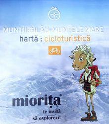 Harta cicloturistică Gilău-Muntele Mare