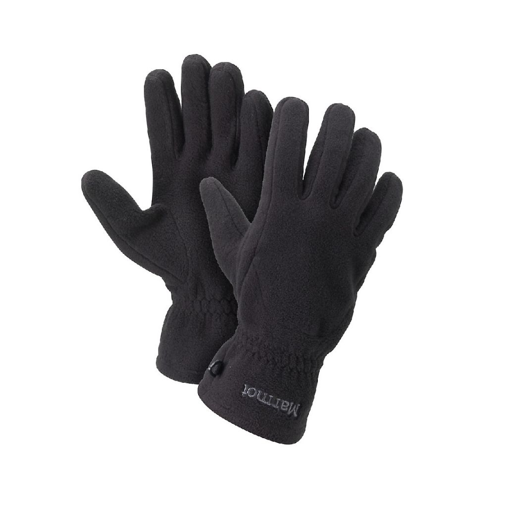 Marmot Fleece Glove Black 117991332