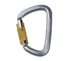 Carabiniera Singing Rock, de otel, 50kN, Triple Lock, cod K4081