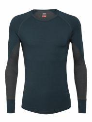 Bluza de corp Icebreaker 260 Zone LS Crewe Men, 97% lână Merino