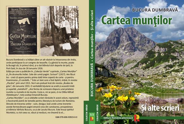 Romania Pitoreasca  Cartea muntilor Bucura Dumbrava