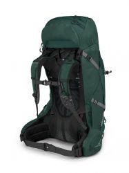 Osprey Aether Plus 60 Axo Green Back
