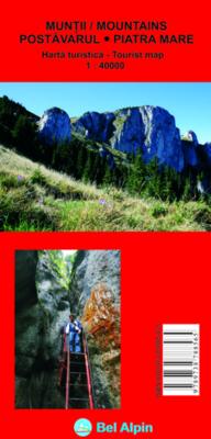 Bel Alpin Harta Muntii Postavarul Piatra Mare