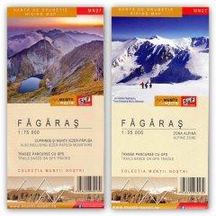 Schubert & Franzke Harta M-ții Făgăraș