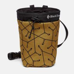 Gym CHalk Bag Yellow dark