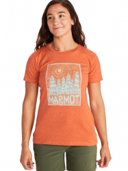 Tricou Women's Marmot Woodblock Tee