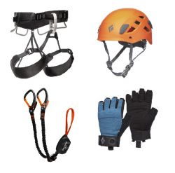 Set Premium pentru Via Ferrata Black Diamond