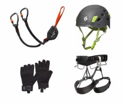 Set Premium II pentru Via Ferrata Black Diamond