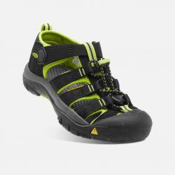 Keen Sandale Newport H2 JR 1009965 black lime green