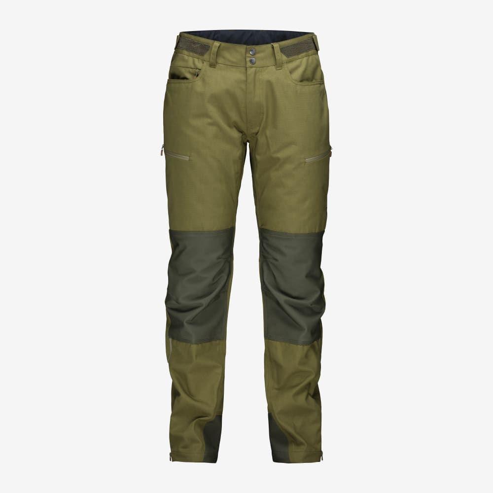 Pantaloni Norrona Svalbard Heavy Duty Olive Drab 2402203897