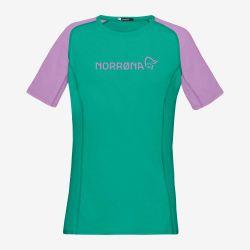 Tricou tehnic pentru Femei MTB Norrona Fjora Equaliser Lightweight