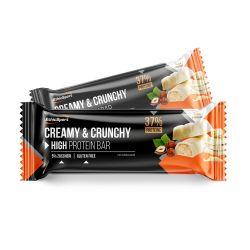 Baton Proteic EthicSport Creamy&Crunchy 30g Alune&Ciocolată Albă