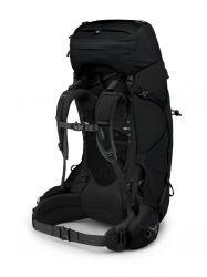 Osprey Rucsac Aether 65 Black back 2