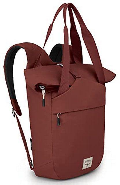 Osprey Arcane Tote Backpack Acorn Red