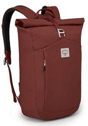 Osprey Arcane Roll Top Backpack Acorn Red