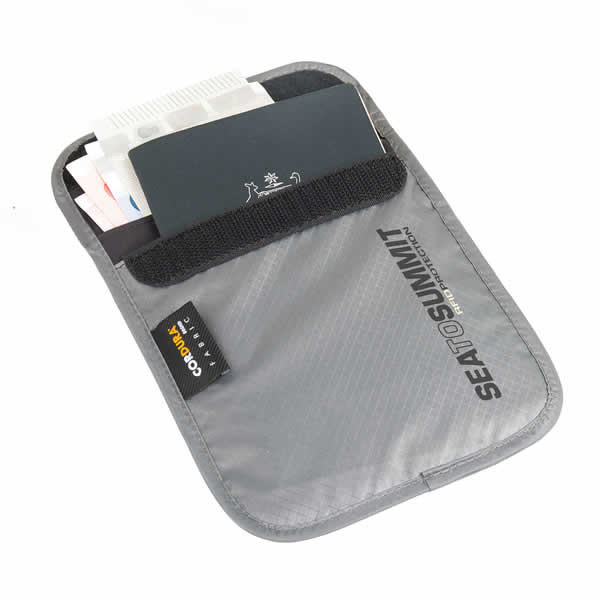 Sea to Summit Neck Pouch RFID ATLNRFIDS grey