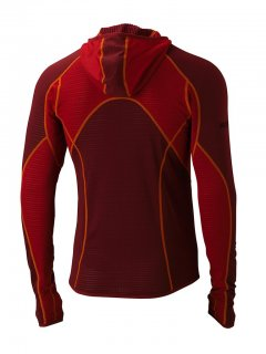 Marmot Thermo Hoody Team Red 83470 back