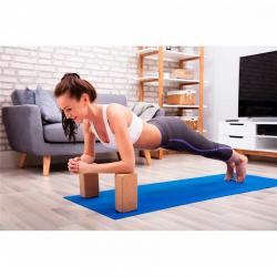 Yoga Block  Cork  23 x15 x7.5 cm Yate