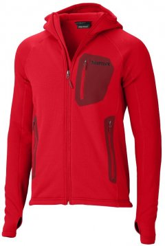 Marmot Stretch Fleece Hoody 96680 Team Red