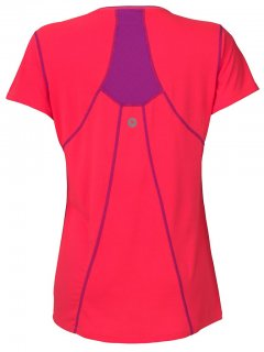 Marmot Essential SS 57050 Bright Pink Beat Purple back