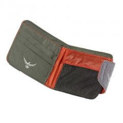 Osprey QuickLock Wallet Poppy Orange open