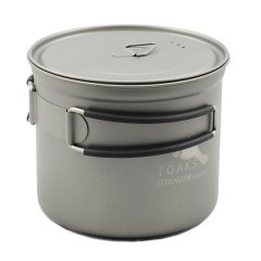 Vas 1000ml Pot Toaks Titanium