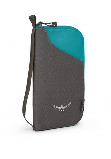 Osprey Documet Zip Wallet Tropical Teal