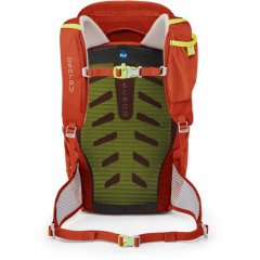 Osprey Jet 18 Strawberry Red back