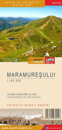 Schubert & Franzke Harta M-ții Maramureșului