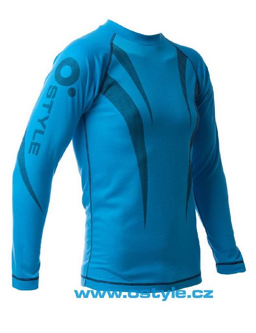 O Style bluza de corp MC5335 blue