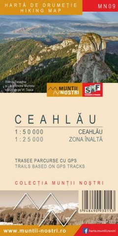 Schubert & Franzke Harta M-ții Ceahlău