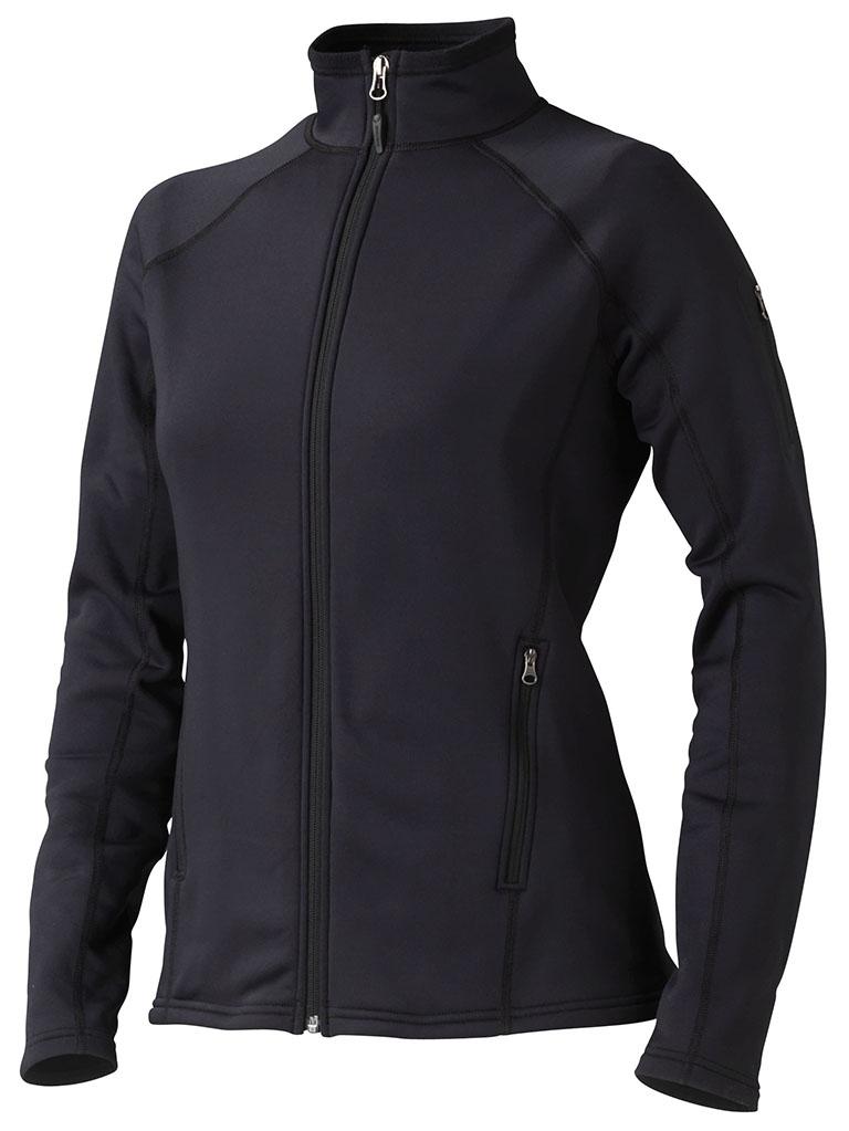 Marmot Stretch Fleece Jacket Wm's 89560 black