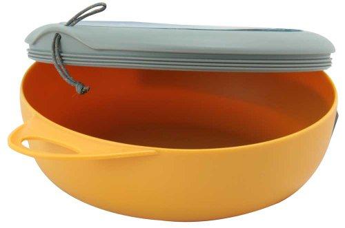 Sea to Summit Delta Bowl with Lid Orange