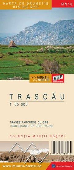 Schubert & Franzke Harta M-ții Trascău