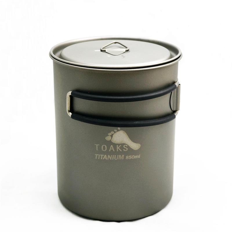 Vas 850 ml Pot Titanium