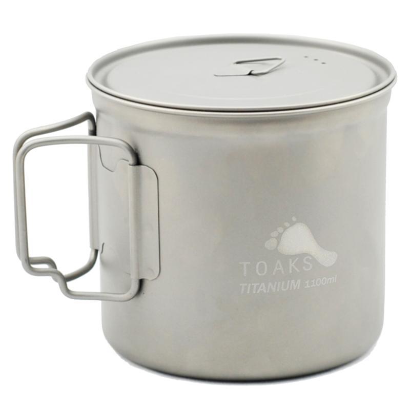 Vas 1100 ml Pot Titanium