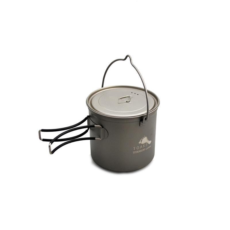 Vas 1100 ml Pot Titanium cu maner